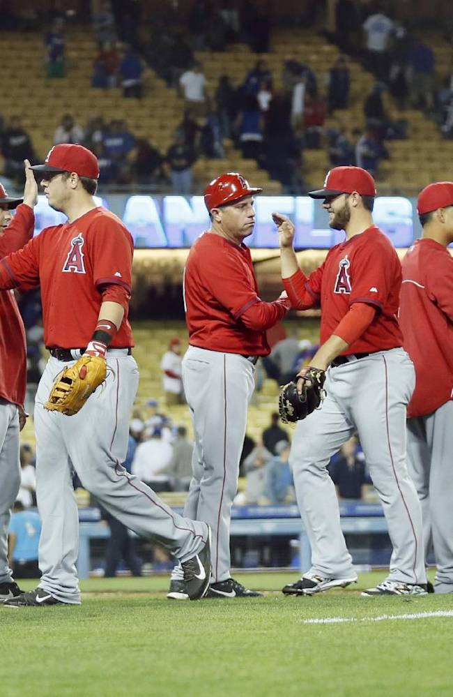 Angels beat Dodgers 7-5 in Freeway Series opener