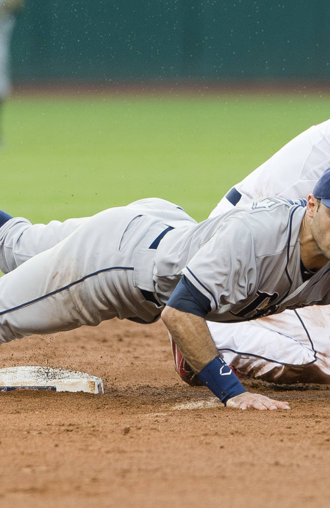 Tampa Bay Rays v Cleveland Indians