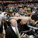 Spartans Final Four-bound after 76-70 OT win over Louisville (Yahoo Sports)