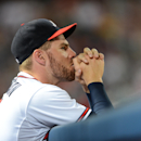Freeman put on DL by Braves with bruised right wrist The Associated Press