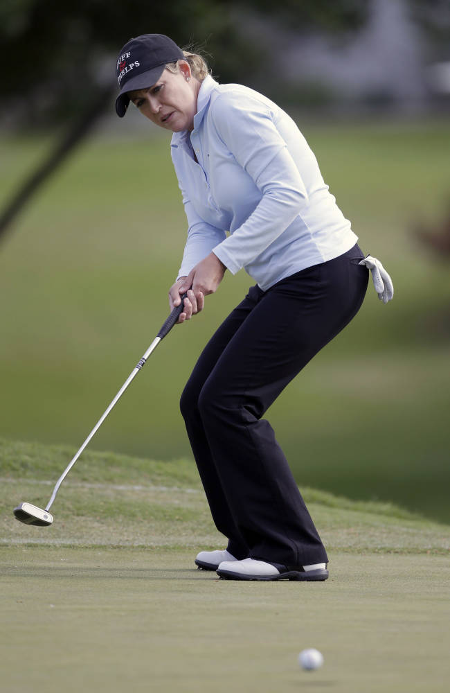 Pettersen back with leading 66 at North Texas LPGA