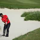 KAVARNA, BULGARIA - MAY 19:  Thongchai Jaidee of Thailand plays a bunker shot on the fifth hole during the semi-final of the Volvo World Match Play Championship at Thracian Cliffs Golf & Beach Resort on May 19, 2013 in Kavarna, Bulgaria.  (Photo by Andrew Redington/Getty Images)