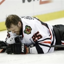 Viktor Stalberg returns for Blackhawks, is denied key goal photo