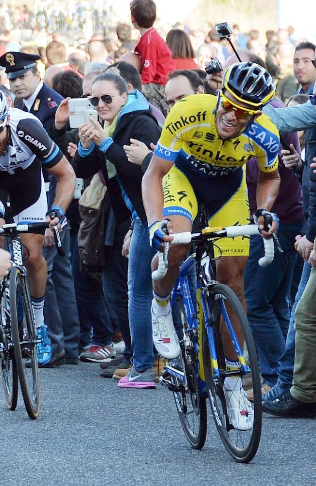 Contador sends signal with Tirreno overall victory