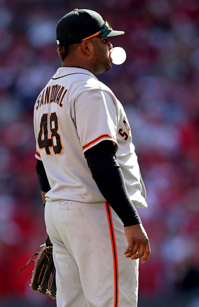 Division Series - San Francisco Giants v Cincinnati Reds - Game Five