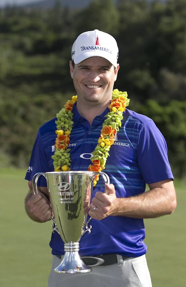 Zach Johnson open new year with a win in Hawaii