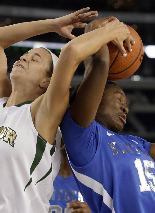 O'Neill, UK women top Baylor 133-130 in 4 OTs