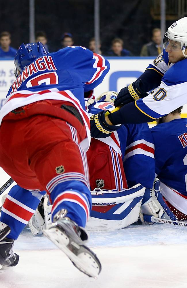 St. Louis Blues v New York Rangers