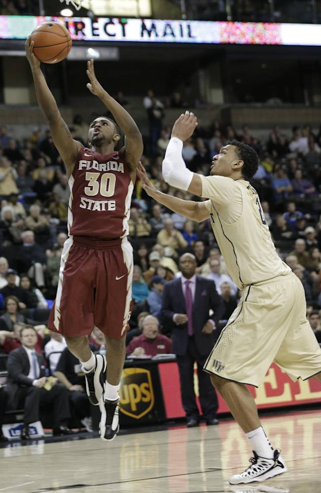 Florida St. rallies past Wake Forest 67-60