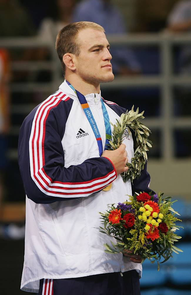 Mens Freestyle 84kg Medal Ceremony