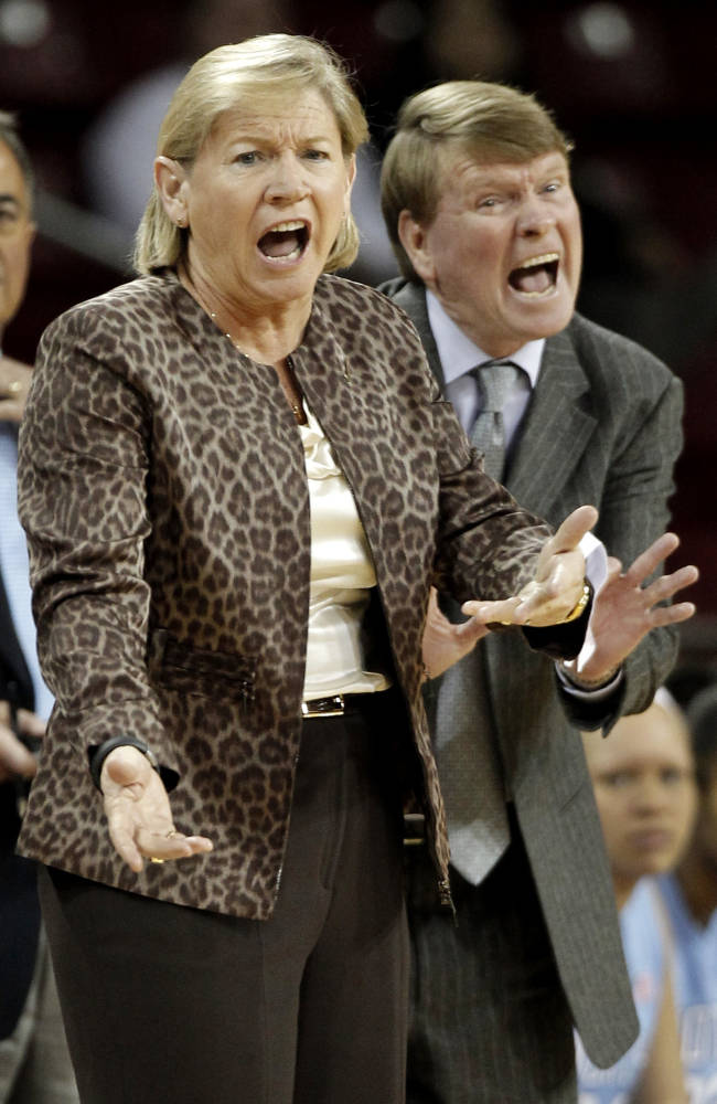 UNC's Calder steps in as Hatchell fights leukemia