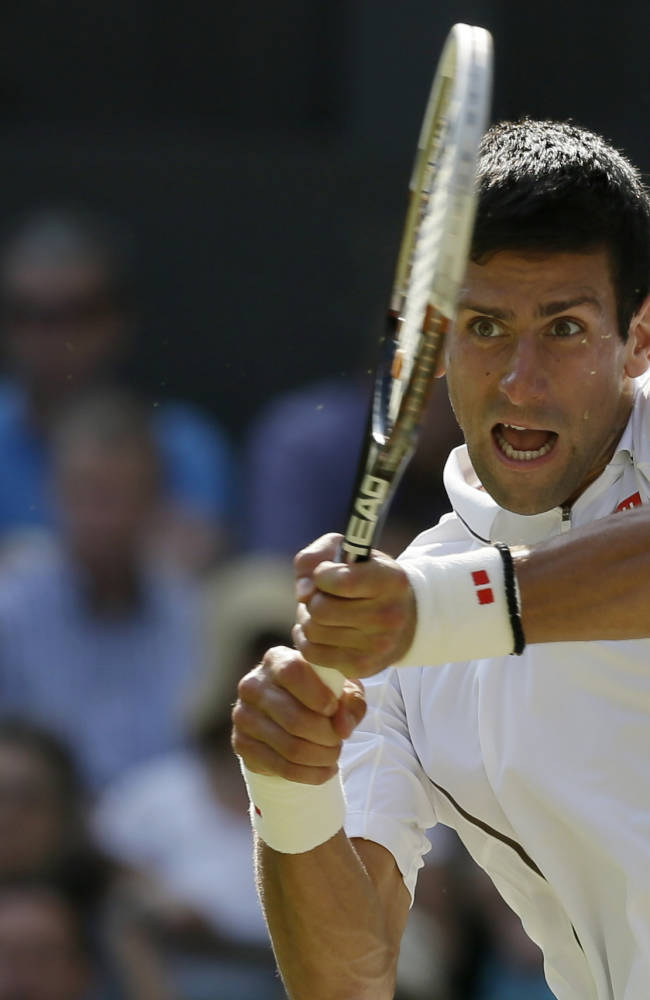 Djokovic, Serena seeded No. 1 for Wimbledon