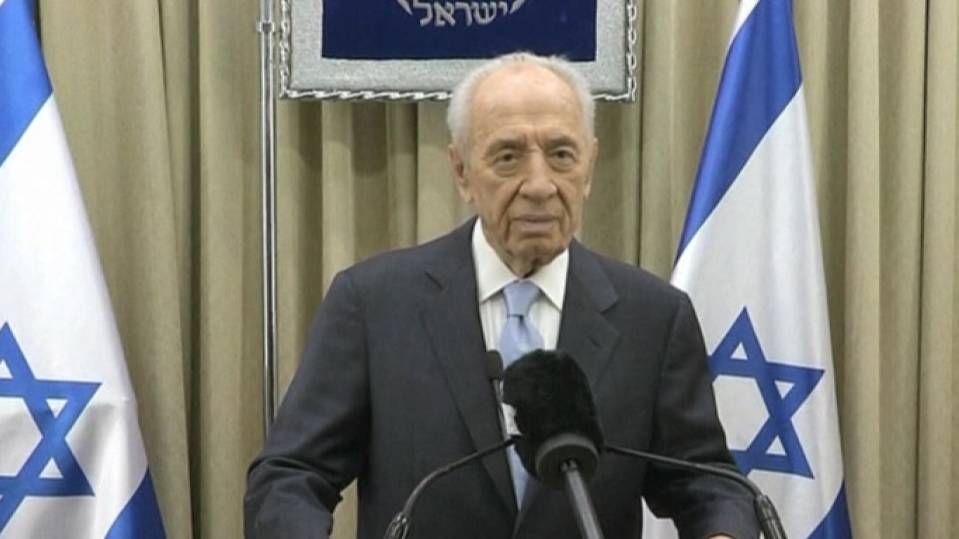 Peres remembers Mandela