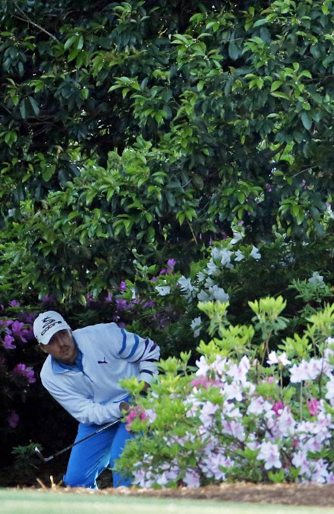 Rookies debut in style on Augusta National