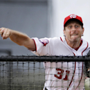 Nats' Scherzer simulates everything, including anthem The Associated Press