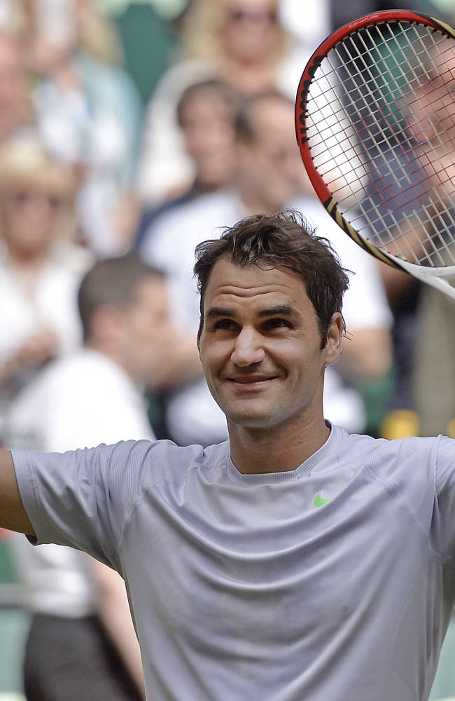 Federer wins 1st title of year, beats Youzhny