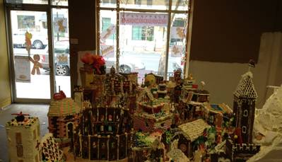 DC Builders Unite to Create Gingerbread Village