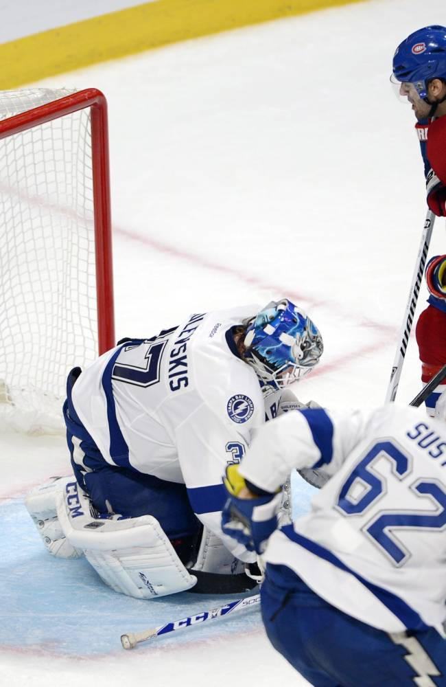 Canadiens sweep Lightning after 4-3 win