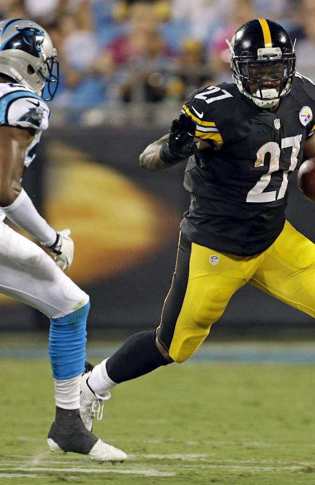 Steelers' running game stuck in neutral