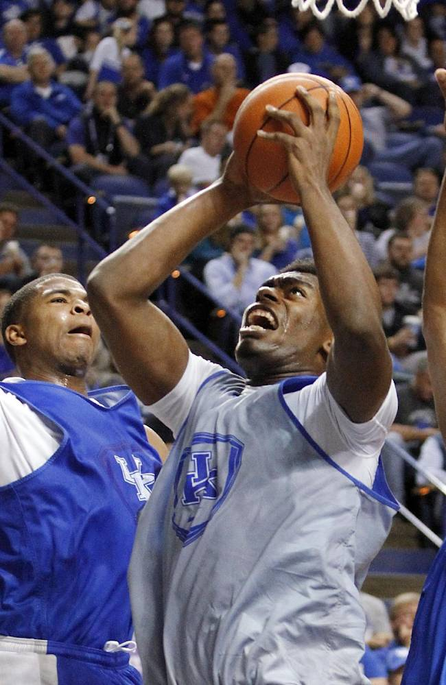 No. 1 Kentucky starts with more high expectations