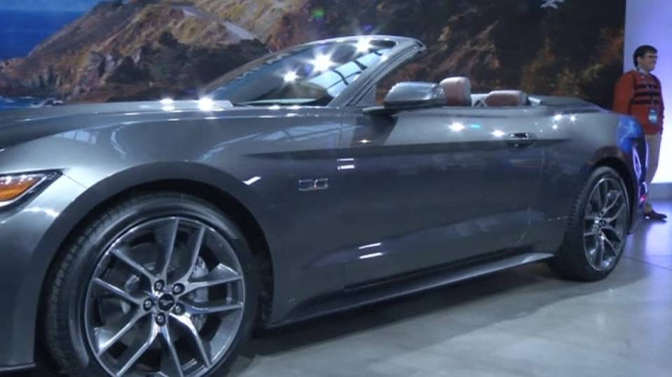 Ford muscles up with new Mustang