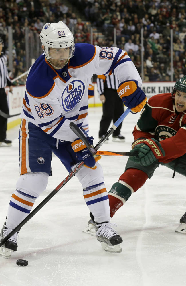 Hall's shootout winner lifts Oilers past Wild, 4-3