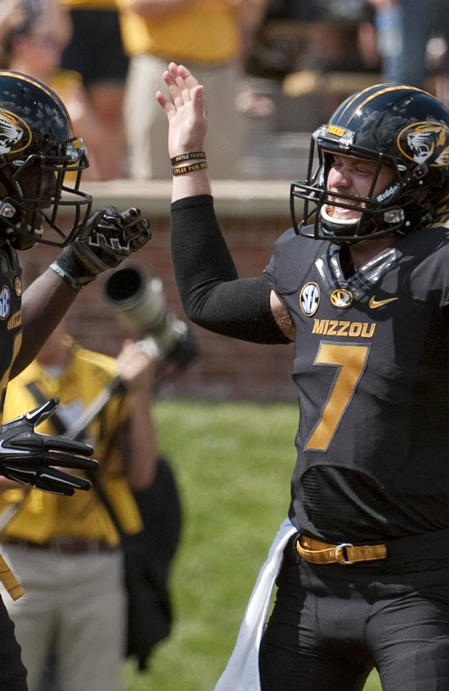Missouri WR White growing on and off the field