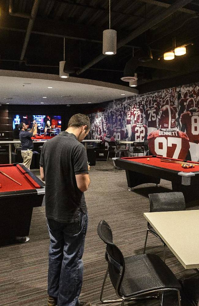AP PHOTOS: College football palaces