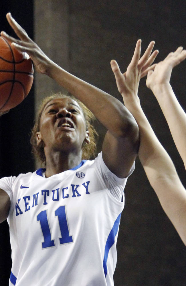 Goss scores 18, No. 7 Kentucky women rout Lipscomb