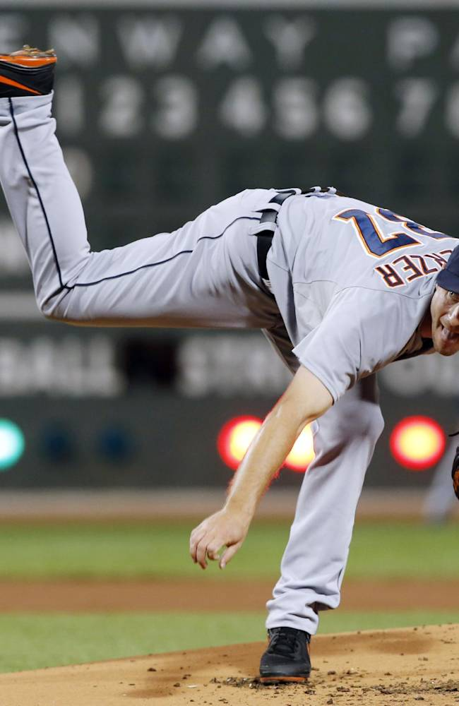 Lester outduels Scherzer, Red Sox top Tigers 2-1