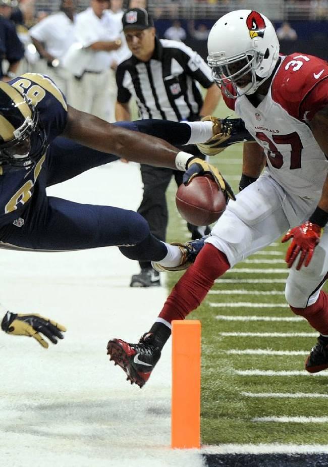 Zuerlein lifts Rams past Cardinals 27-24