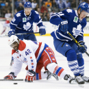Bozak scores twice, Maple Leafs beat Capitals 6-2 The Associated Press