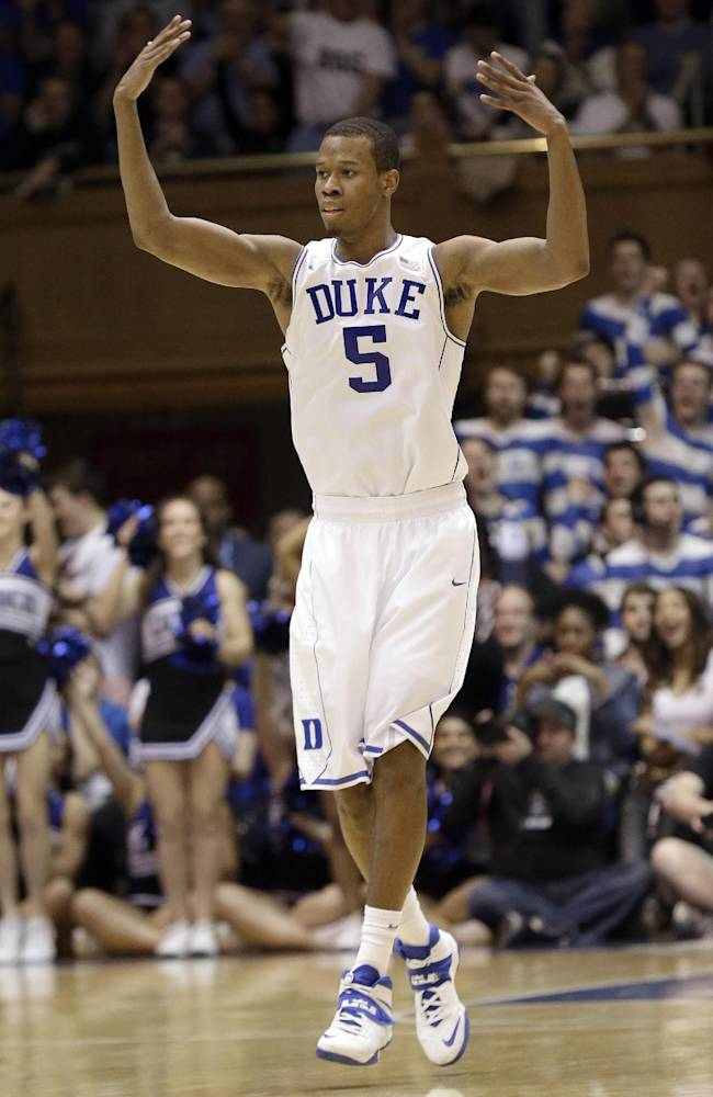 Duke sophomore Rodney Hood entering NBA draft