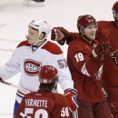 Coyotes rebound for 5-2 win over Habs The Associated Press