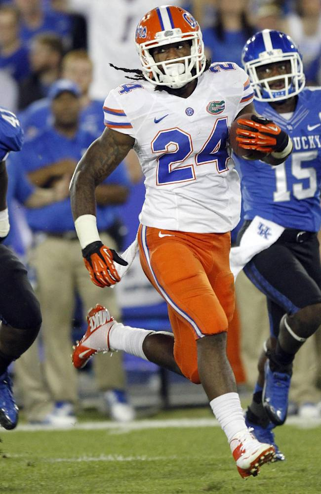 No. 18 Florida playing keep-away with opponents