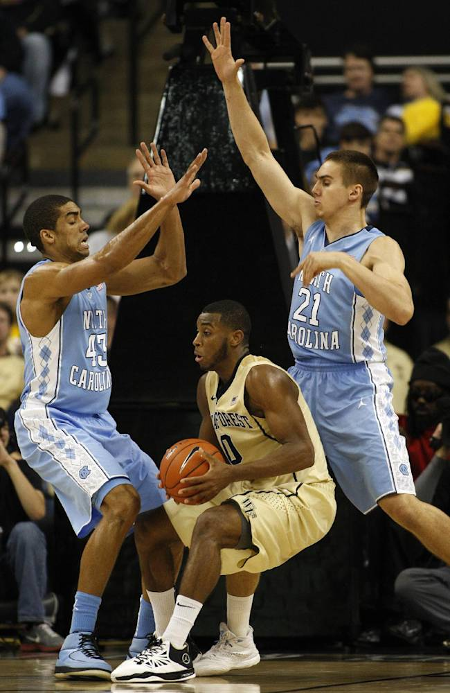 Demon Deacons upset No. 19 Tar Heels 73-67