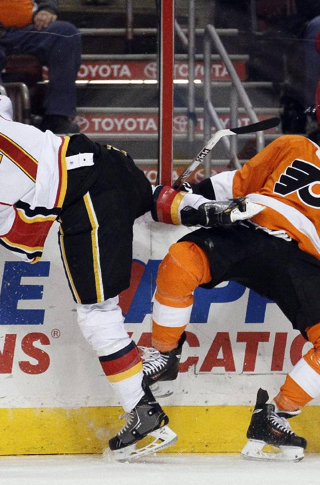 Schenn, Hartnell lead Flyers over Flames