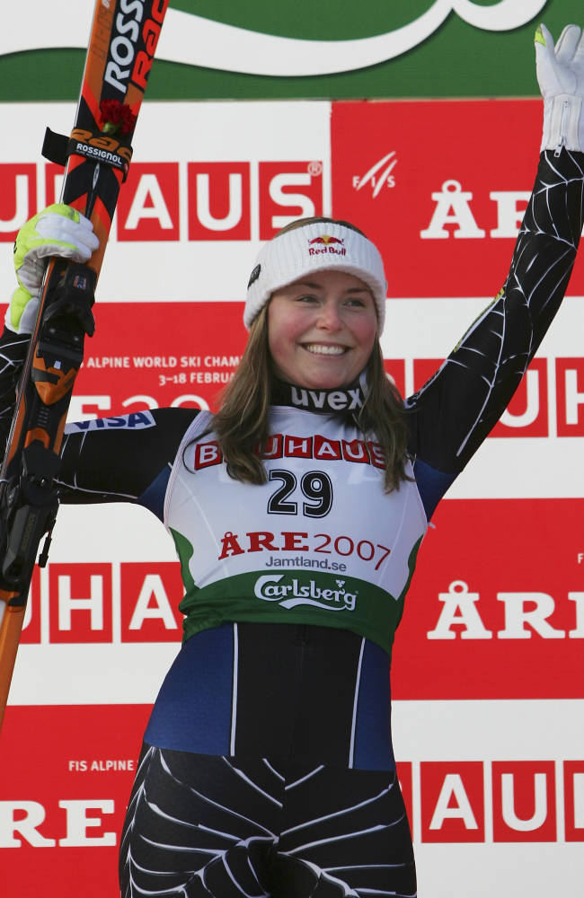 FIS World Ski Championships 2007 - Womens Downhill