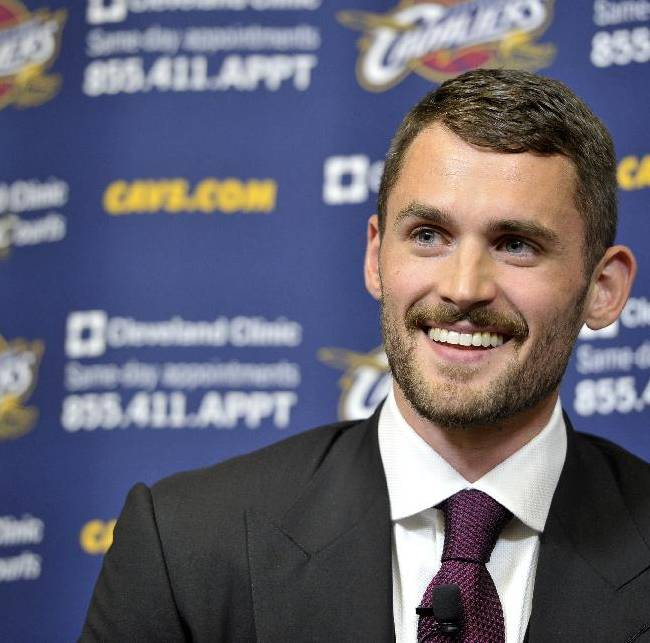 Love struck: Kevin Love pledges commitment to Cavs