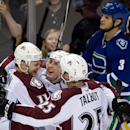 Roy makes all right moves in 1st year leading Avs The Associated Press