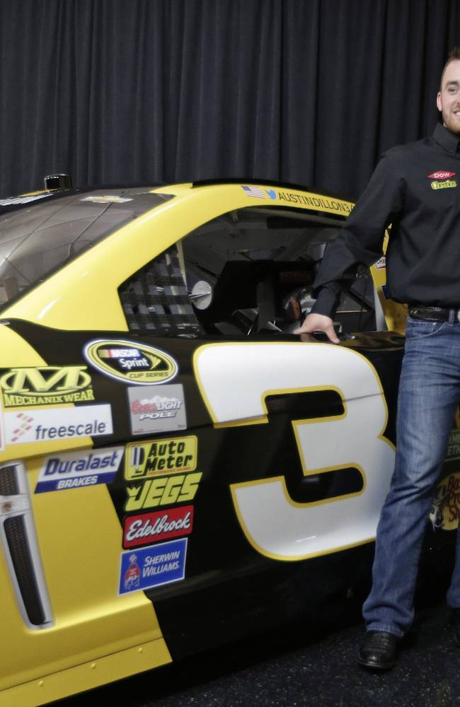 Austin Dillon to bring No. 3 to Sprint Cup Series