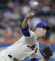 New York Mets' Zack Wheeler delivers a pitch during the first inning of a baseball game against the Atlanta Braves on Tuesday, Aug. 20, 2013, in New York. (AP Photo/Frank Franklin II)
