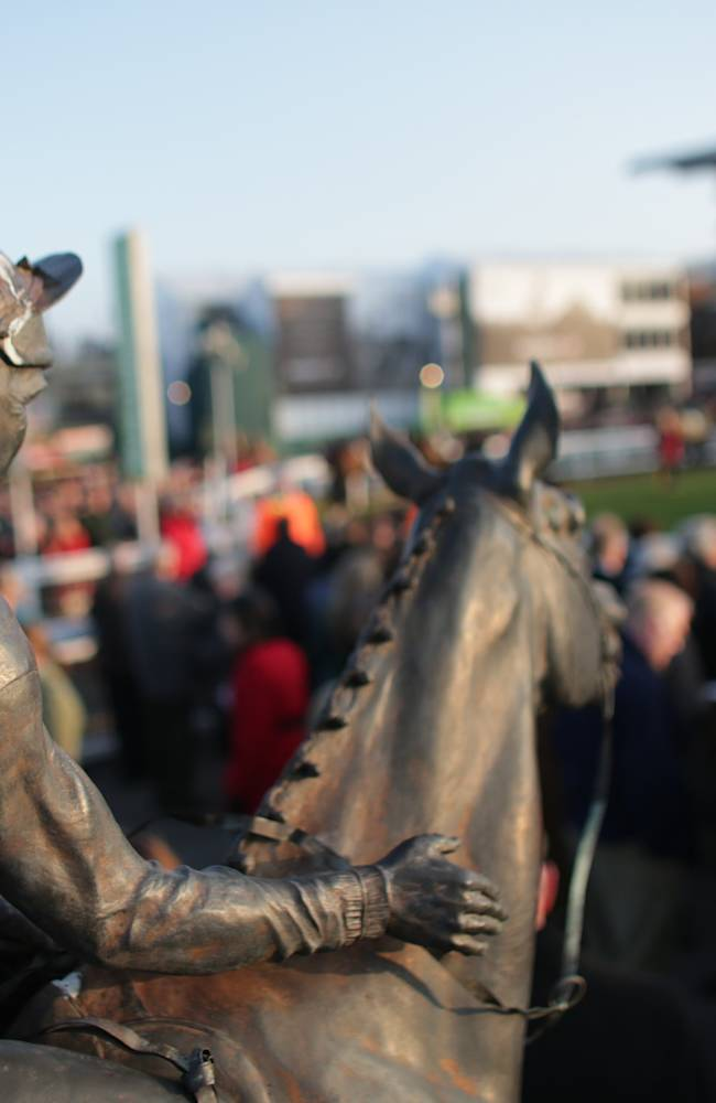 Racegoers Enjoy The First Day Of The Cheltenham Festival