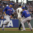 Cain, Pence power Giants past Mets The Associated Press