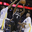 O'Neal, Green carry Warriors past Nets, 93-86 The Associated Press