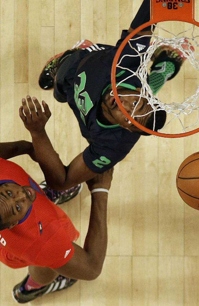 East gets by Durant, Griffin to win All-Star game
