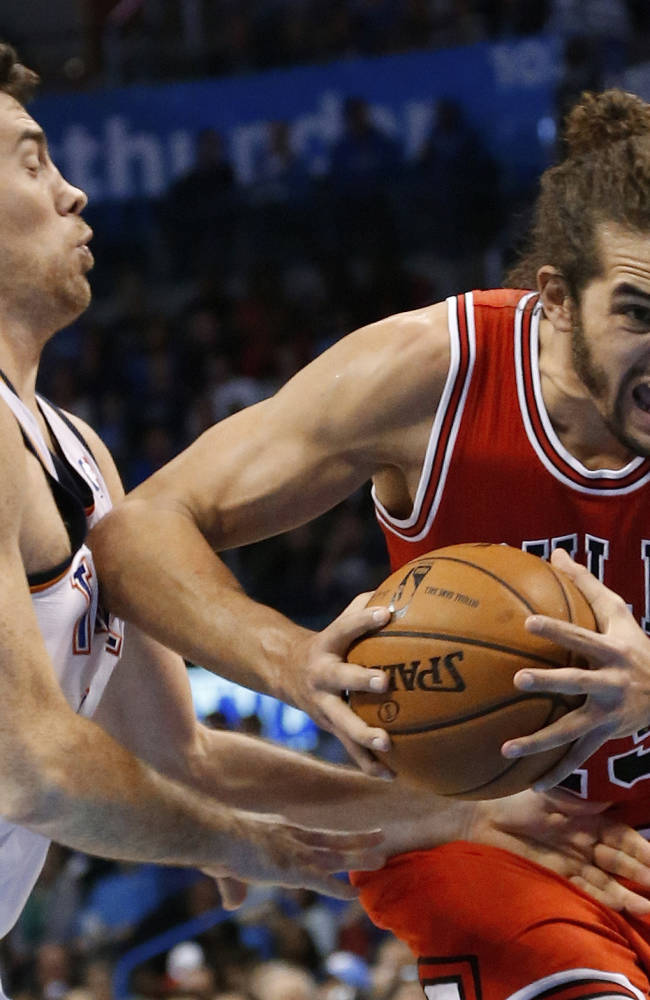 Durant leads streaking Thunder past Bulls 107-95