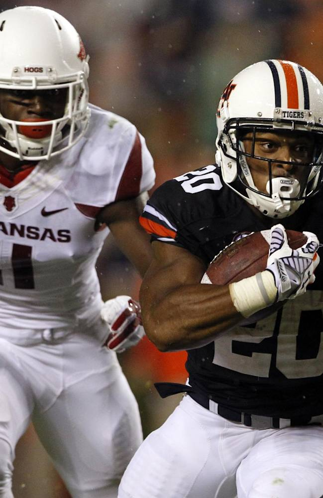 No. 5 Auburn's running game appears in good hands
