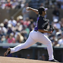 Rockies' De La Rosa leaves with groin injury in loss to A's The Associated Press