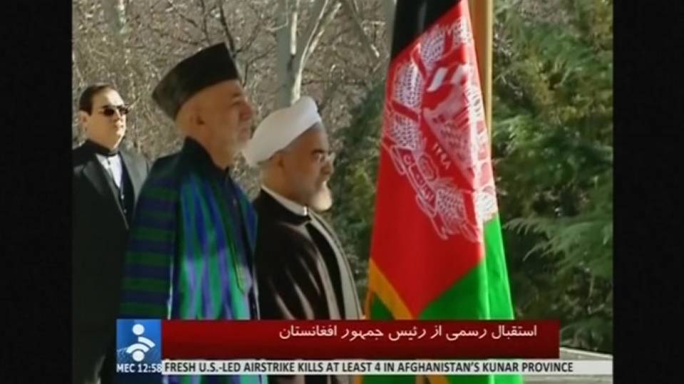 Afghanistan and Iran strike cooperation pact